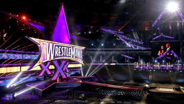 WrestleMania 30 had a big set for a big occasion.
