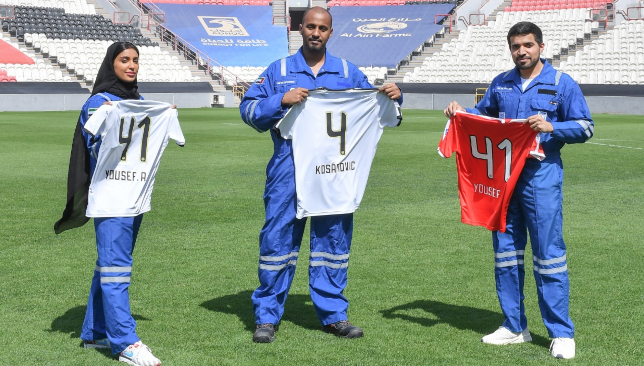 Al Jazira distributes limited-edition shirts to frontline workers