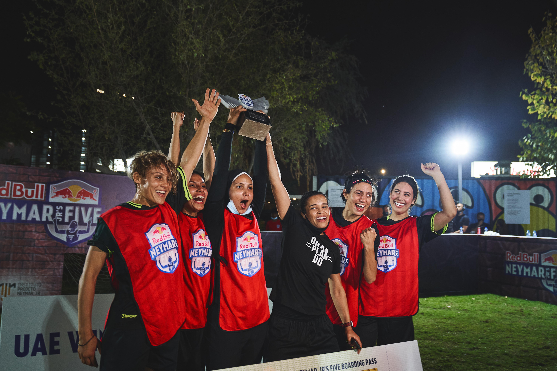 Team Rijab and Arab Star win the Red Bull Neymar Jr's Five UAE tournament
