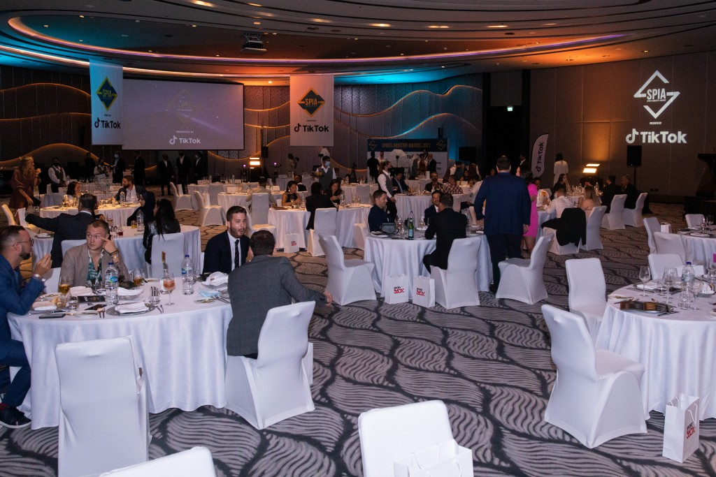 Ballroom: The event took place at the W Hotel, Palm Jumeirah