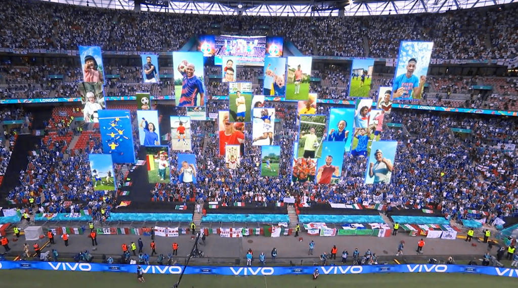 The beautiful moments of UEFA EURO 2020 made magical by vivo