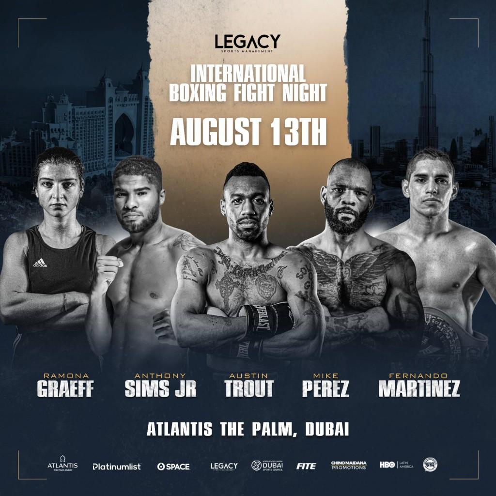 Former world champion Austin Trout headlines Dubai International Boxing Fight Night