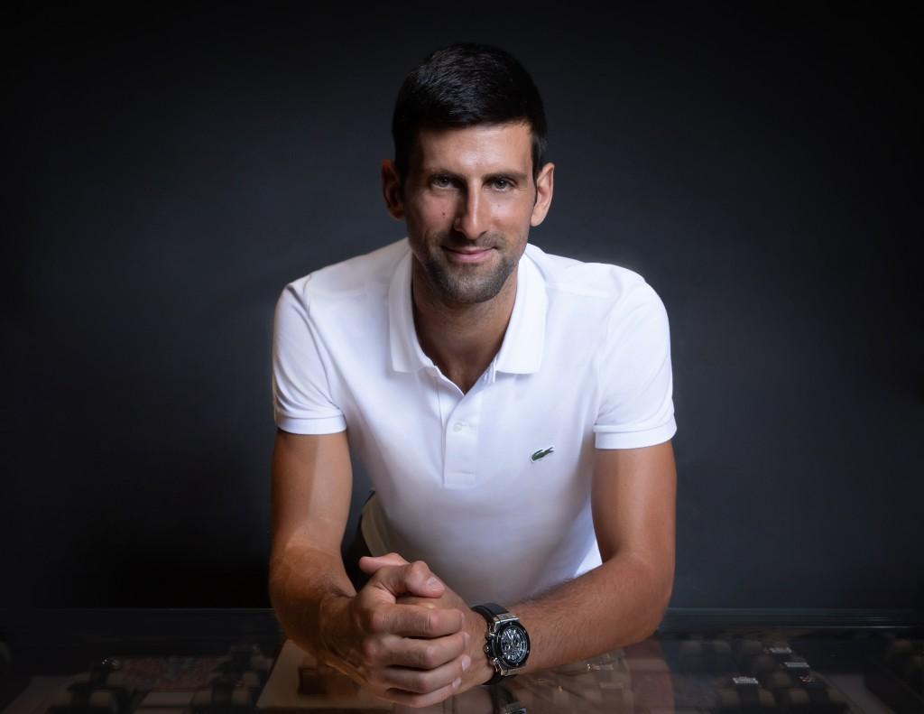 Novak Djokovic becomes Hublot ambassador ahead of US Open