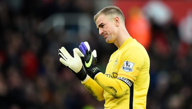 Unhappy: Joe Hart.