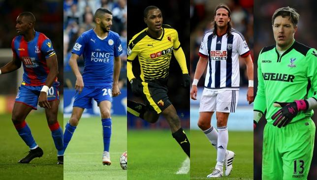 Wing wizards Yannick Bolasie and Riyad Mahrez feature in this week's top five.
