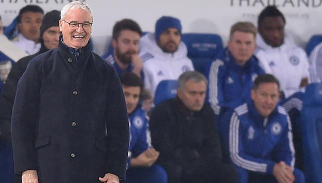 All smiles: Claudio Ranieri.