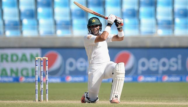 Batting on: Misbah.