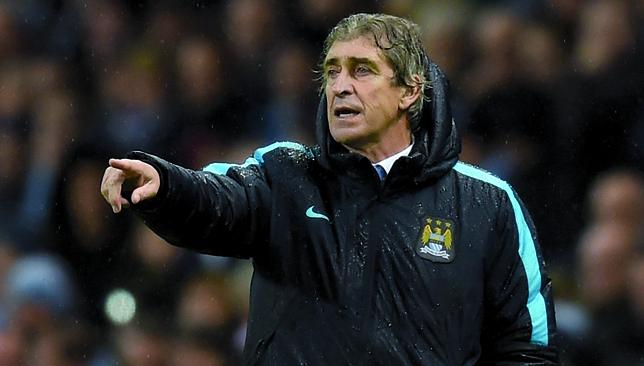 All to play for: Manuel Pellegrini's side remain in four competitions.