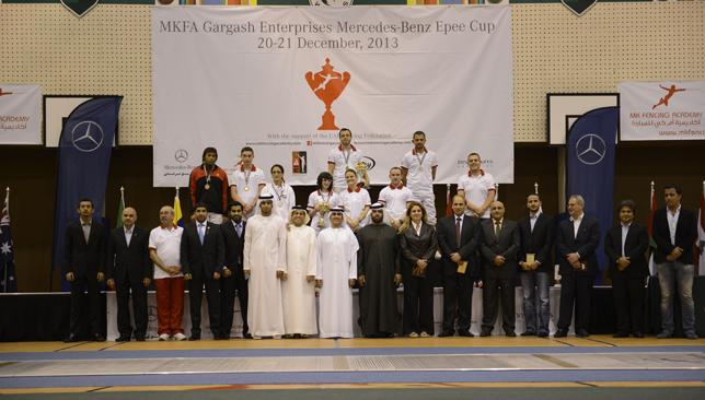 'A dream come true': The MKFA Gargash Enterprises Mercedes-Benz Cup is the biggest fencing event ever held in the UAE. (Image: Andy Pavlov)