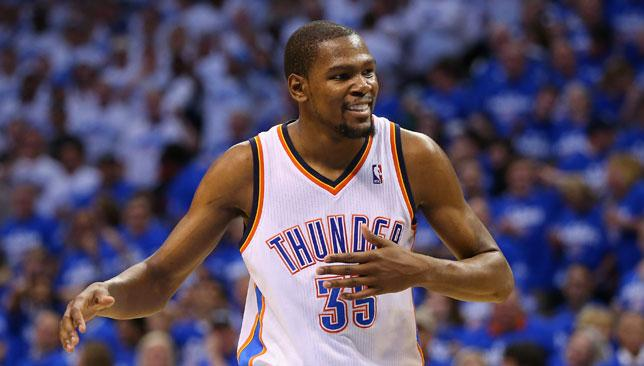 Westbrook and Durant star as Thunder level series with ...