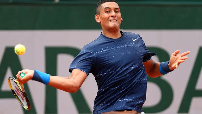 Potential star: Australia's Nick Kyrgios has found the senior ATP tour a tough nut to crack.