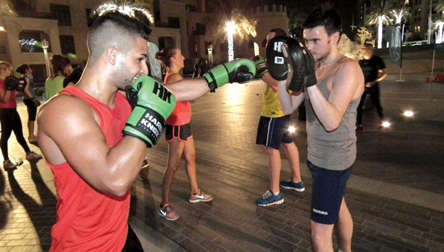 Fighting fit: The Hayemaker Bootcamp is sure to be a hit with boxing and fitness fans.