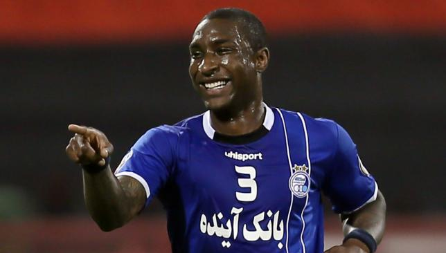 Bitter end: Jlloyd Samuel has left Esteghlal after a successful two-and-a-half years.