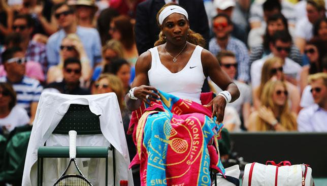 Searching for form: Serena Williams has been some way short of her best tennis all season.