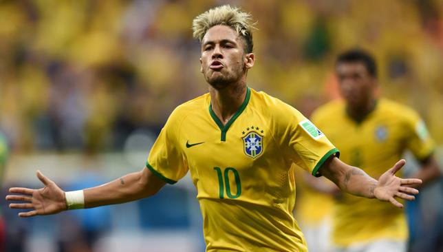 Motivational Neymar 3 Brazilian Football Player World Cup 2014 Poster Sport Star
