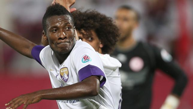Here to stay: Gyan has been a mega hit since moving to Al Ain in 2011.