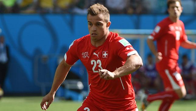 Super Shaqiri: After an impressive World Cup tournament, Xherdan Shaqiri is attracting lots of attention.