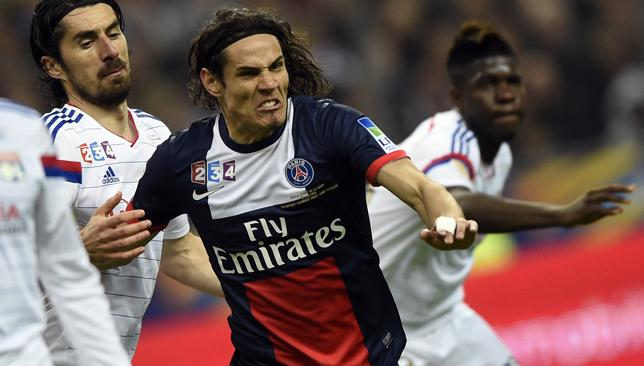 Happy in Paris: Cavani insists he wants to stay at PSG amid ongoing transfer rumours.