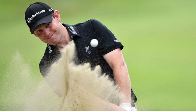 Gallant charge: Stephen Gallacher may have done enough to warrant a nod from the European captain.