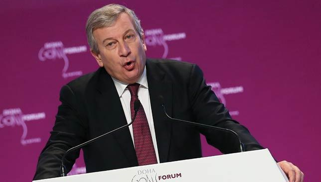 Using sport as a catalyst for change: Richard Attias.