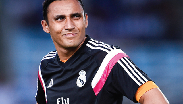 Summer recruit: Keylor Navas.