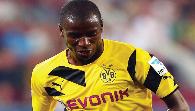 Super sub: BVB's Colombian star Adrian Ramos netted a brace against Anderlecht.