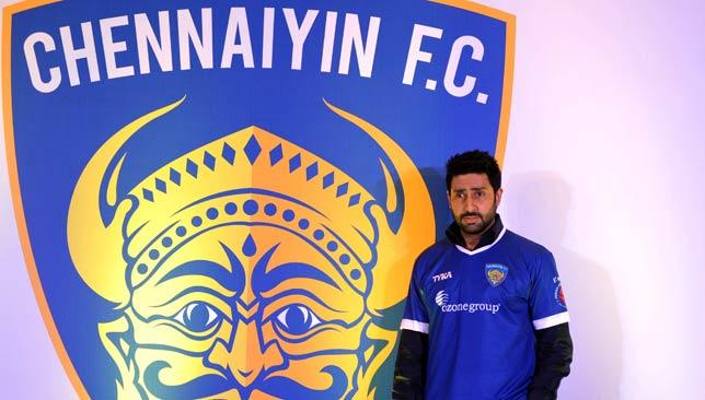 Point to prove: Bollywood star and owner of ISL franchise Chennaitin FC, Abhishek Bachchan.