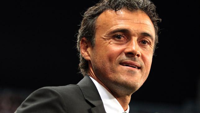 Negative reception: Barcelona coach Luis Enrique Martinez.