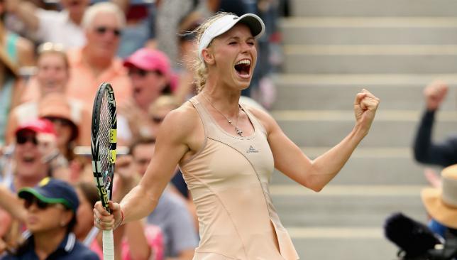 Fun in Dubai: Caroline Wozniacki is excited to team up with Novak Djokovic for UAE Royals in Dubai.
