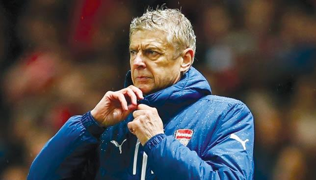 Problems in Europe: Arsene Wenger.