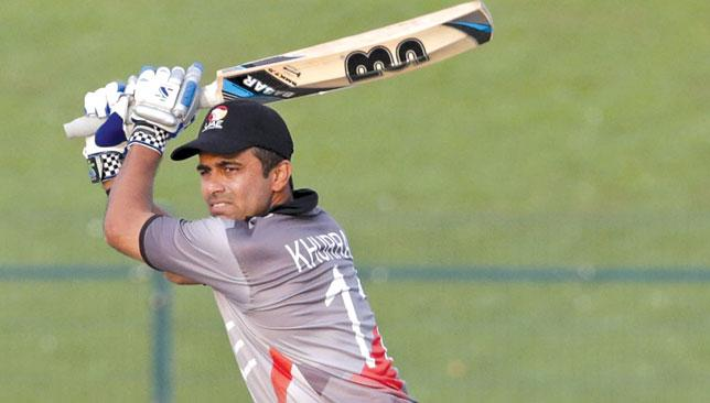 Doing it the hard way: The UAE were without leading series run-scorer, and captain, Khurram Khan.
