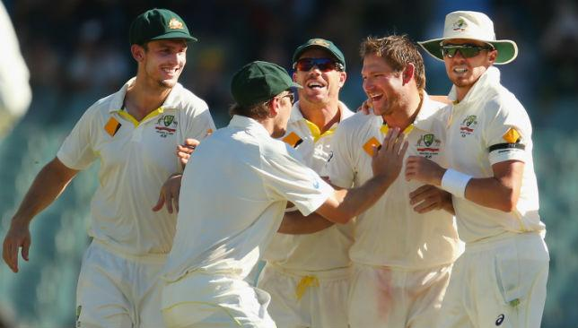 All smiles: Phil Hughes' death has galvanised the Australia team to play some outstanding cricket against India.