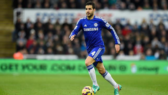 One of the week's winners: Cesc Fabregas was outstanding for Chelsea, scoring a goal and assisting John Terry's first.