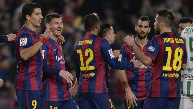 Barcelona are banned from buying players during the transfer window until January 2016.