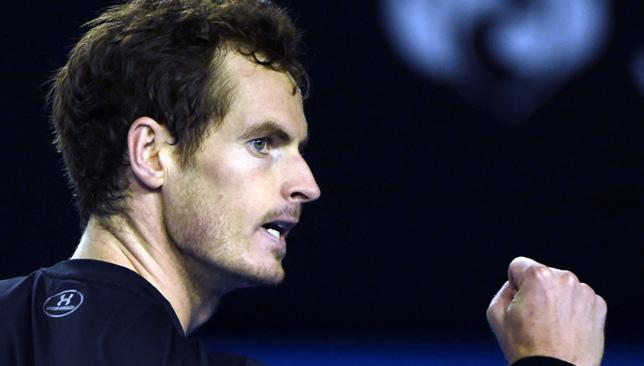 Eye on the prize: World No6 Andy Murray.