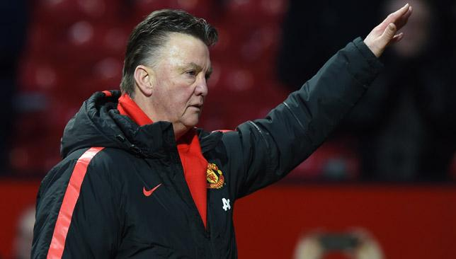 Louis van Gaal believes Manchester United's season is far from over.