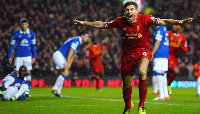 Merseyside derby weekend: The match that always provides entertainment, goals and red cards.