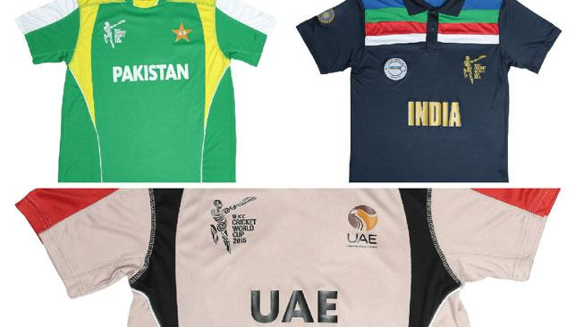360win: Cricket World Cup 2015 memorabilia for India, Pakistan and