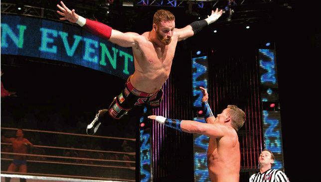 We have lift off: Sami Zayn will be launching himself off the turnbuckle in Abu Dhabi.