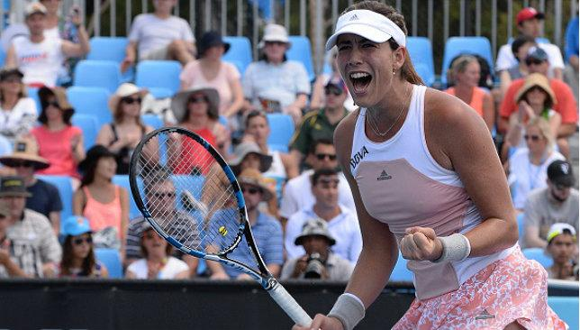 Rising star: Spain's Garbine Muguruza is a player to look out for after a break-through 2014 season.