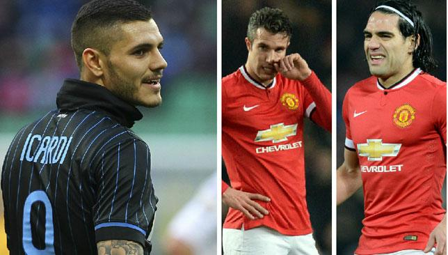 Could Mauro Icardi be the man to inject some life into Manchester United's frontline?