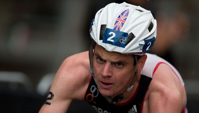 Determined: Great Britain's Jonathan Brownlee believes he can win Gold at Rio 2016.