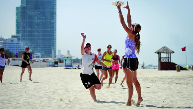 Popular sport: Over 1,000 players from 25 countries will be in action at the JBR Beach for six days next week.