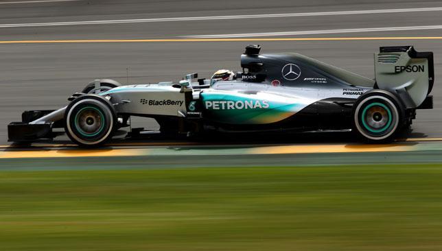 Hamilton went quickest in Melbourne qualifying.