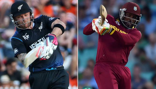 Brendon McCullum will be aiming to lead hosts New Zealand to victory against Chris Gayle and the West Indies.
