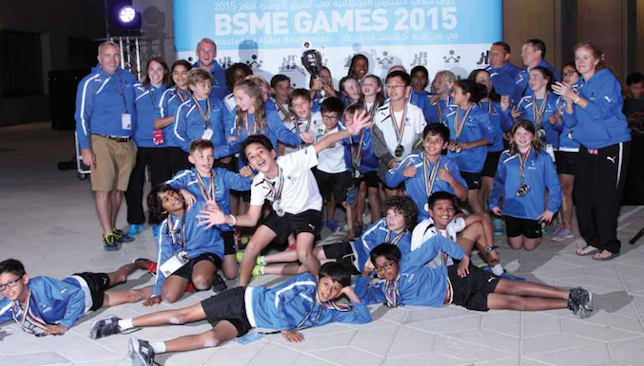 Doha College run away with top honours at BSME Games in Abu Dhabi