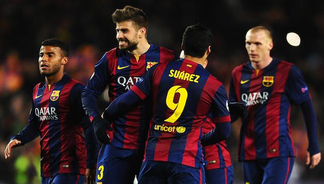 Barcelona completed a 3-1 aggregate victory over Manchester City at Camp Nou.