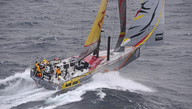 Abu Dhabi Ocean Racing sets new Volvo Ocean Race IWC sd record ...