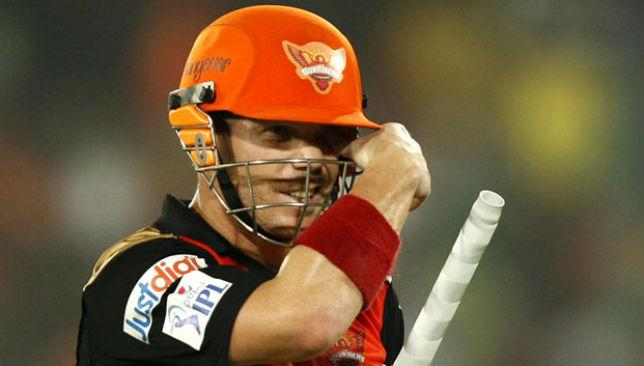 Warner has been central to Hyderabad's six victories scoring 423 runs in 11 games.