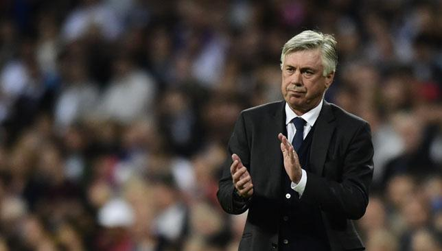 Under fire: Real Madrid boss Carlo Ancelotti.